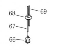 AL-KO FRS 4125 Üzemanyagcső hosszú (67)