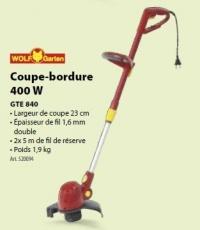 GTE 840 Elektromos szegélynyíró - Fűszegélynyírók, fűkaszák